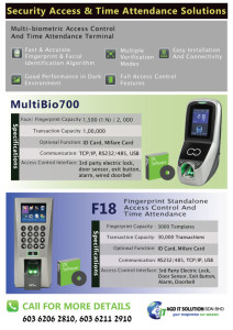 access-control-system-flyer-design