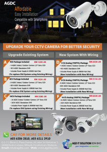 cctv upgrade existing system